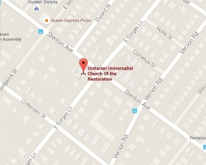 Unitarian Universalist Church of the Restoration 6900 Stenton Ave Philadelphia, PA 19150